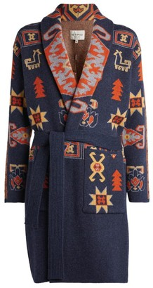 Etro Jacquard-Pattern Long Cardigan
