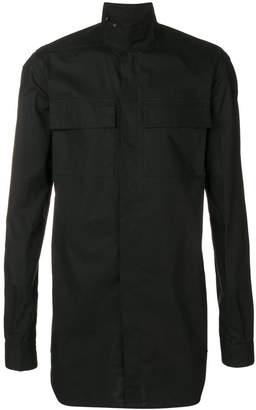 Rick Owens pocket plain shirt