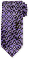 Stefano Ricci Interlocking Printed Silk Tie