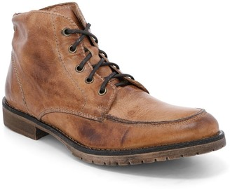 Bed Stu Men's Leather Lace-Up Work Boots - Curtis II