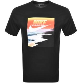 Nike Summer Photo Logo T Shirt Black