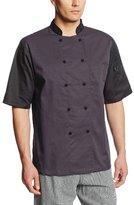 Dickies Men's Color Block Cool Breeze Chef Coat