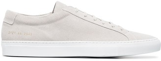 Common Projects grey Achilles suede sneakers