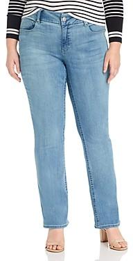 Seven7 Lia Tummyless Micro-Bootcut Jeans in Gypsy