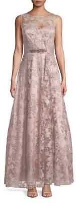 Eliza J Lace Evening Dress