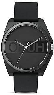 HUGO #Play All Black Watch, 40mm