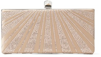 Jimmy Choo Diamante-Embellished Celeste Clutch Bag