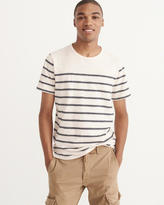 Abercrombie & Fitch Striped Crew Tee