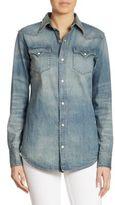 Ralph Lauren Iconic Denim Western Shirt