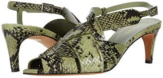 3.1 Phillip Lim Nina 60 mm Woven Sandal (Pale Green) Women's Shoes