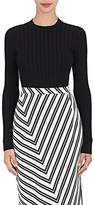 Altuzarra Women's Regan Rib-Knit Stretch-Jersey Top