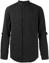 Helmut Lang collarless strap shirt - men - Cotton - S