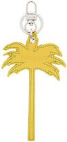 Palm Angels Yellow Palm Tree Keychain