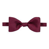 Thomas Pink Hector Herringbone 'Self Tie' Bow Tie