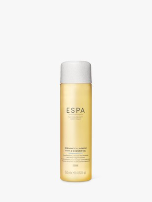 Espa Bergamot & Jasmine Bath & Shower Gel, 250ml