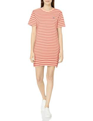 Obey Women's Short Sleeve t-Shirt Dress