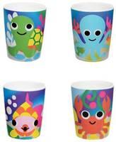French Bull Ocean Kids Juice Cups (Set of 4)