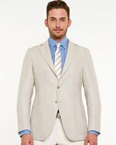 Le Château Linen Blend Tailored Fit Blazer