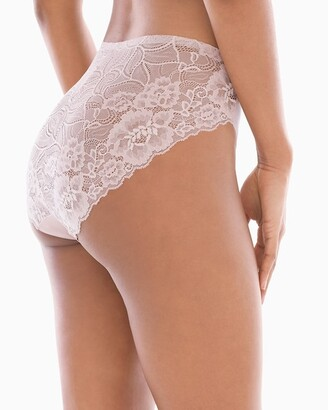 Soma Intimates Lace Back High Leg Brief