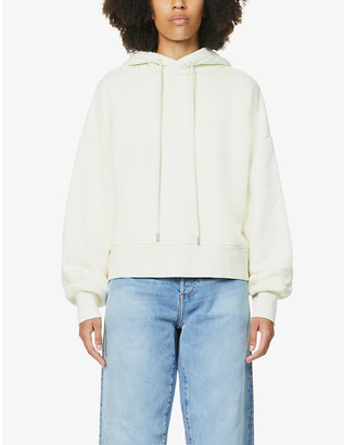 Won Hundred Lilou cropped organic cotton-jersey hoody