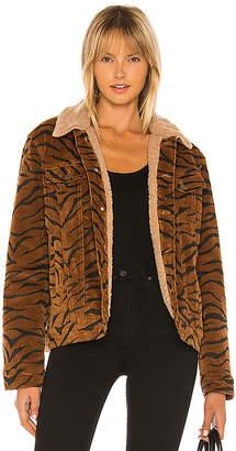 MinkPink Wild Woman Faux Fur Jacket