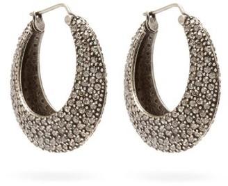 Etro Crystal-embellished Hoop Earrings - Crystal