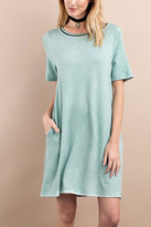 Easel French Terry Dress