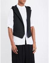 Yohji Yamamoto Cotton-blend Waistcoat