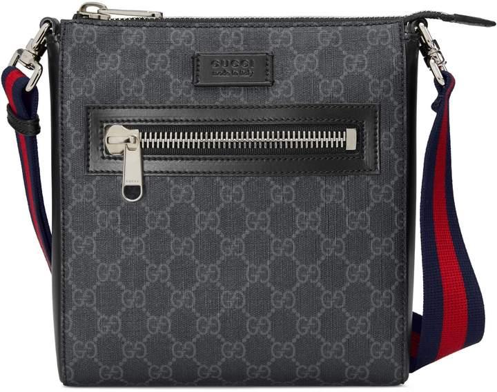 5b82c69efbc8 Mens Gucci Small Messenger Bag - ShopStyle