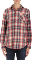 Current/Elliott The Perfect School Shirt - RED REVIVAL
