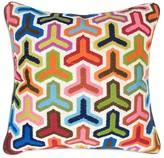 "Jonathan Adler Bargello Hazard Pillow, 20"" x 20"""