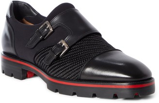 Christian Louboutin Mortisky Double Monk Strap Shoe