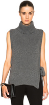 Rosetta Getty Cashmere Turtleneck Poncho