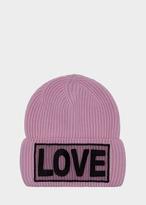 Versace Love Manifesto Knit Hat