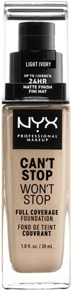 NYX Can't Stop Won't Stop Full Coverage Foundation - Light Ivory