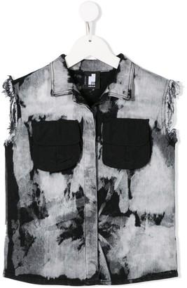 Cinzia Araia Kids Sleeveless Denim Jacket