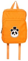 Mini Rodini Orange Panda Backpack