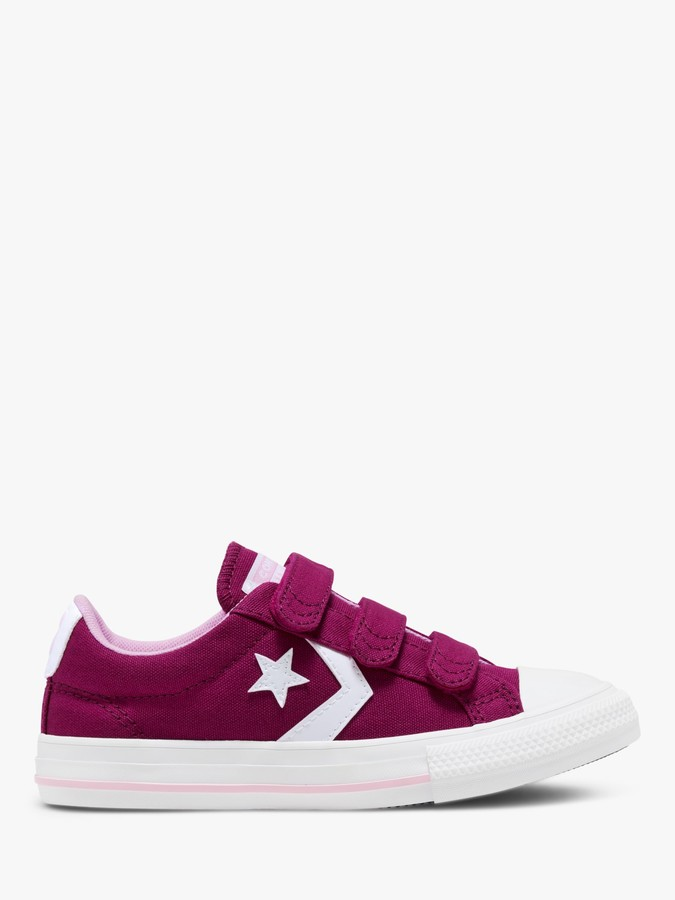 Converse Children's Varsity Star Player 3V Canvas Trainers