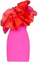 SOLACE London Finley ruffled mini dress