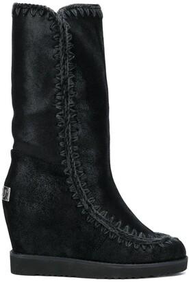 Mou Eskimo wedge boots