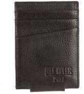 Bill Adler Men's RFID-Blocking Leather Front-Pocket Wallet