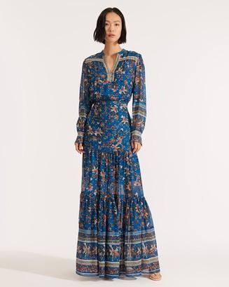 Veronica Beard Sama Floral Dress
