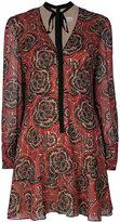RED Valentino Psychedelic print dress - women - Silk/Polyester/Spandex/Elastane - 40