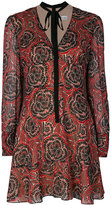 RED Valentino Psychedelic print dress
