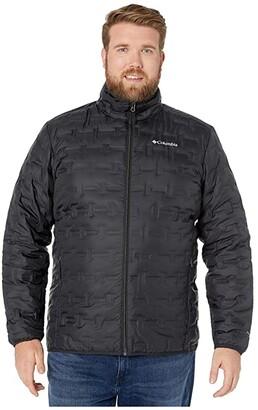 Columbia Big Tall Delta Ridge Down Jacket (Black) Men's Coat