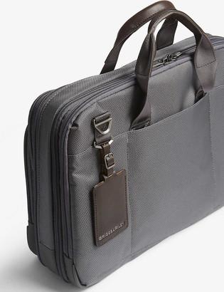 Briggs & Riley @work Medium Expandable nylon briefcase