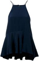 Polo Ralph Lauren flared top - women - Silk/Polyester - 2