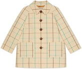 Thumbnail for your product : Gucci Children's check wool coat