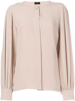 Joseph concealed placket blouse