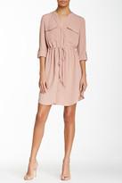 Blvd Drawstring Shirt Dress